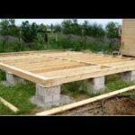 Важные моменты при строительстве столбчатого фундамента