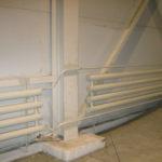 Отопление производственного цеха или склада радиаторами