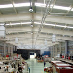 Отопление промышленного и производственного цеха