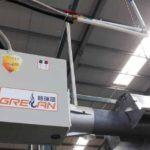 Отопление склада или больших гипермаркетов с помощью руфтопов