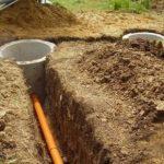 Переливная канализация в частном доме