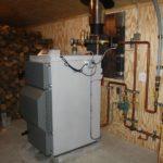 Автономное отопление дровяным котлом