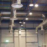 Отопление склада общеобменной вентиляцией