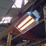 Отопление цеха или склада инфракрасными газовыми панелями