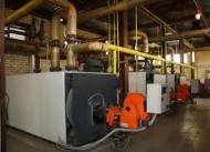 Водяное отопление на промышленном предприятии