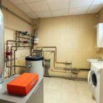 Водяное отопление загородного дома газом