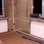 Замена элементов системы отопления