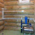 Способ № 2 — утепление водопровода